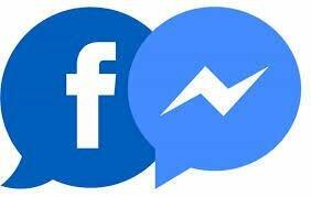 Ícone para Falar pelo Messenger do Facebook